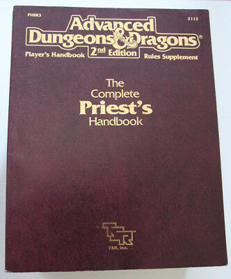Advanced Dungeons and Dragons - The Complete Priest's Handbook