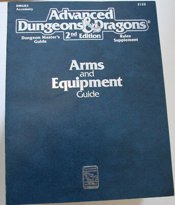 Advanced Dungeons and Dragons - Arms and Equipment Guide