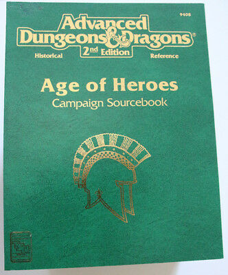 Advanced Dungeons and Dragons - Age of Heroes Campaign Sourcebook