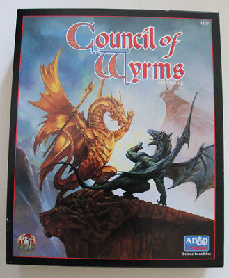 Advanced Dungeons and Dragons - Council of Wyrms !!!Extrem SELTEN!!!
