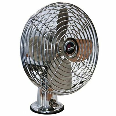 Prime Products Fan 2-Speed Chrome  06-0852 Canadian Seller
