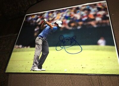 Rory Mcllroy signed And Framed 11x14 Picture With COA