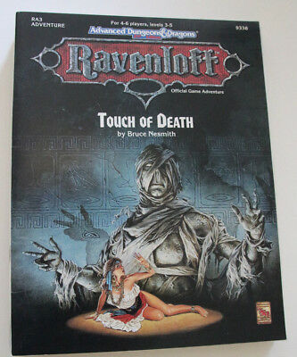 "Advanced Dungeons and Dragons - Ravenloft ""Touch of Death"""