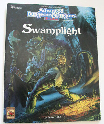"Advanced Dungeons and Dragons - Abenteuer ""Swamplight"""