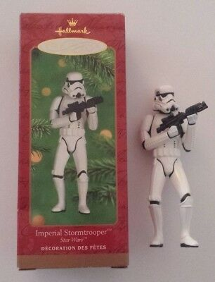 HALLMARK Keepsake Ornament STAR WARS IMPERIAL STORMTROOPER 2000 Collectable