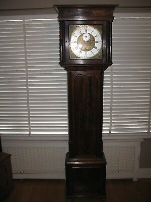 grandfather clock 18th century longcase clock