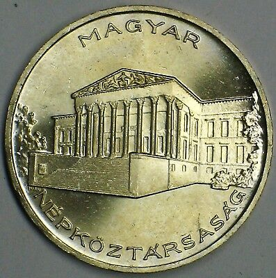 Hungary 1956 Silver 10 Forint Gem Brilliant Uncirculated Km# 552