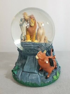 Disney's Lion King Mufasa Simba 'Circle Of Life' Musical SnowGlobe