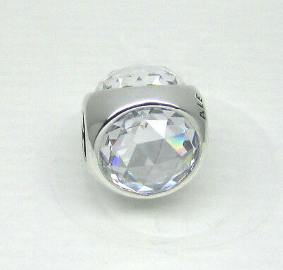 eeb8f4304 AUTHENTIC PANDORA #792095CZ Radiant Droplet Clear Bead **RETIRED ...