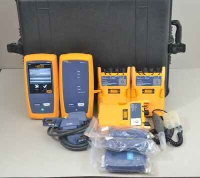 Fluke DSX-5000 Cat6a OFP-100-Q OFP-QUAD OptiFiber CFP-100 Certifiber SM MM OTDR