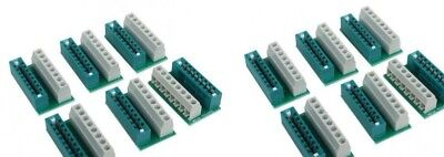 ACCU-LITES 12 Pack SNAPS ! - no-soldering edge connector for Circuitron Tortoise
