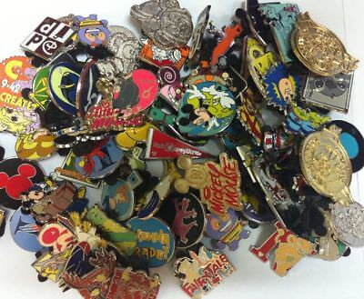 Disney Pins lot of 1000 1-3 Day Free Shipping US Seller 100% Tradable+HM+LE+Rack