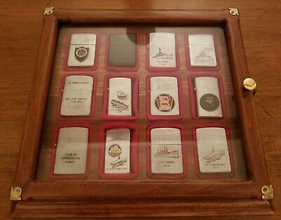 Huge Rare Vintage Lighter Collection  Lot Military Zippo And Japan With Case!