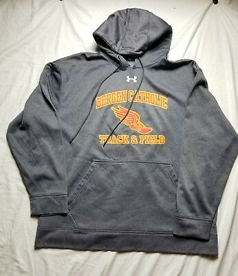 Brand New Under Armour USA Fleece Pull Over Hoodie 1316242
