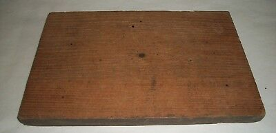 """Antique DRAWER FACE With Dovetail--Chestnut Wood--9 1/2"""" x 6 1/4"""""""