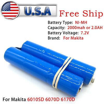 BATTERY REPACKING PACK For Makita 7 2V 2 0Ah Ni-MH 6010SD 6070D 6170D M001