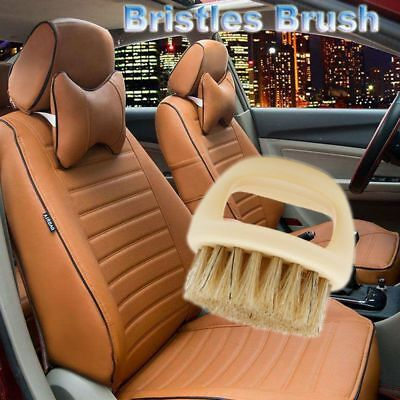 Auto Detailing Car Brush Car Auto Care Hard and Soft Bristle For Leather Seat