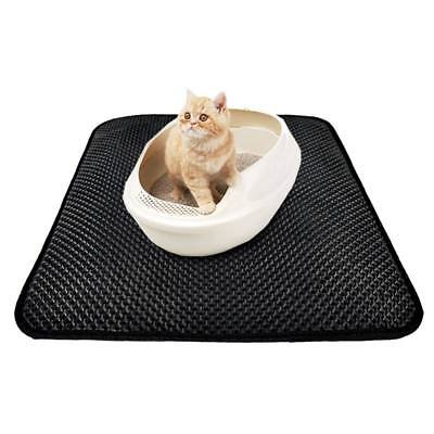 Pet Cat Folding Double-Layer Cat Litter Mat EVA Mat Waterproof Bottom Layer AU