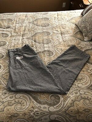 Chef Works Pants! Classic check look, black/white, baggy - NEAR MINT!