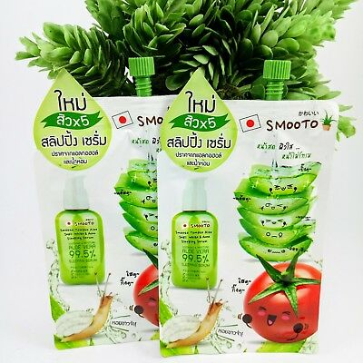 Tomato aloe vera snail white acne sleeping mask serum for oily pores skin acne.