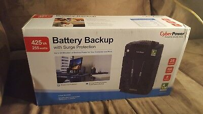 Cyberpower battery backup with surge protector (energy saving)