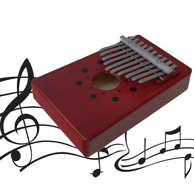 10 Keys African Kalimba Mbira Thumb Piano Traditional Musical Accompaniment BH75