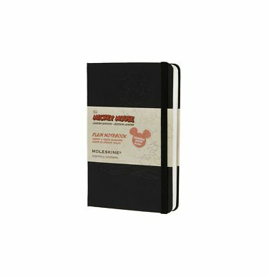 Moleskine  Mickey Mouse Limited Edition Pocket Plain Notebook Black