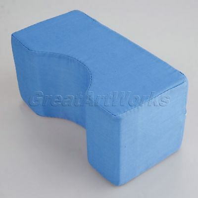 Blue Foam Ankle Knee Pillow Bed Support Cushion Pressure Relief Pad 20x10x10cm