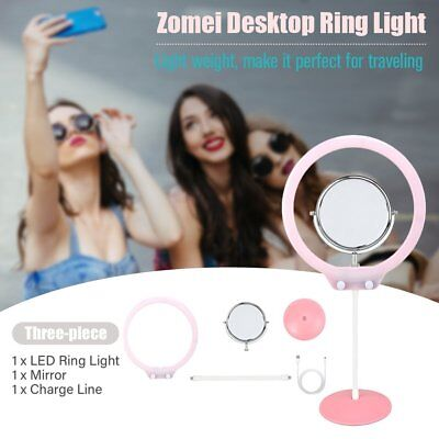 NEW Bright LED Ring Lamp Selfie Fill Light Photography for Cellphone Camera PP
