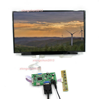 "17.3"" IPS 1080P HDMI LCD LED EDP Module DIY For Raspberry Pi PS3 XBox PS Panel"