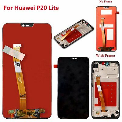 For Huawei P20 Lite LCD Display Touch Screen Digitizer Assembly Replace + Tools