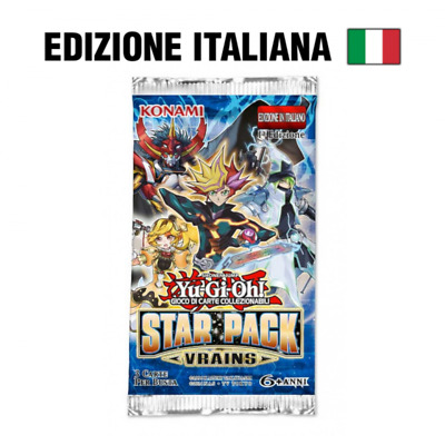Star Pack VRAINS - Busta 3 carte (IT)