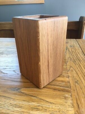 Handmade Wine Cooler in Oak