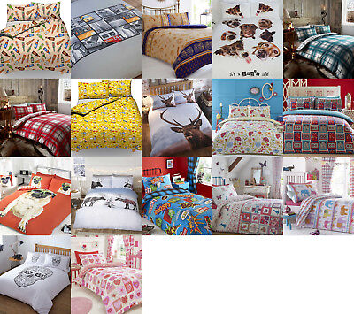 *new Designs Added*  Sale Clearance Duvet Sets Single, Double, King & Super King