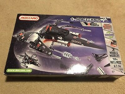 Spaceship Meccano - Black