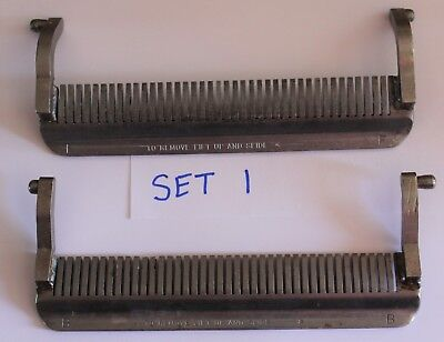 used Front & Back Stripper for Hobart Model 403 Steakmaster Tenderizer Set #1