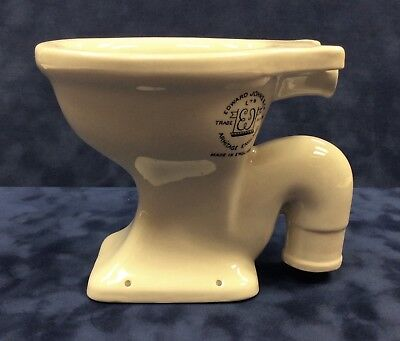 Antique Salesman's Sample Toilet, Porcelain, c1900