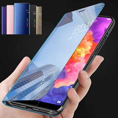 360° For SAMSUNG Note 9/A9 Star Clear View Case Flip Mirror Cover Galaxy Note 4