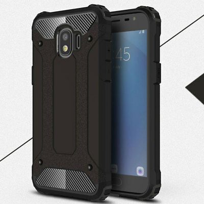 Shockproof Hybrid Armor Case for Samsung Galaxy J2 Pro 2018 Rugged Rubber Cover