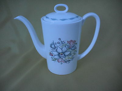 Susie Cooper Bridal Bouquet Coffee Pot C1165