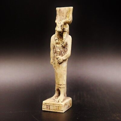 Rare Ancient Egyptian Amulet Figurine Small Statue, 300 BC