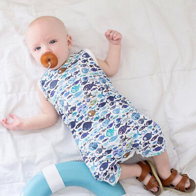 Newborn Infant Kids Baby Boy Bodysuit Romper Jumpsuit Outfit Summer Clothes