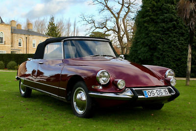 1962 Citroen DS 19 'Chapron' Convertible