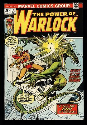 Warlock (1972) #8 1st Print Night Of The Arch-Demon Friedrich Brown Sutton FN/VF