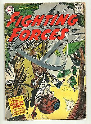 Our Fighting Forces (1954) #18 First Printing Joe Kubert Russ Heath DC War Good+