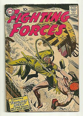 Our Fighting Forces (1954) #24 First Print Joe Kubert Russ Heath DC Comics Good