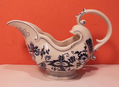 Japan BLUE DANUBE Old World Gravy Boat PERFECT #92 Large 16 oz 2 Cup BANNER MARK