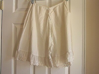vintage 1900 pantaloons bloomers drawers split leg good condition