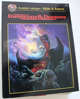 "Advanced Dungeons and Dragons - ""Player's Option - Skills & Power"""