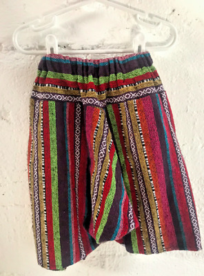 Baby toddler unisex fisherman pants - bought in Chiang Mai Thailand 1.5 - 3 yr